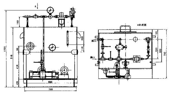 一、使用条件   回转窑托轮应平行于窑体中心线安装,窑体为倾斜放置,在自重作用下有下滑的趋势,采用液压推力挡轮液压站,使窑体按预想的速度(一般约2-3mm/h),强制上窜和有控制的下滑,从而有效地保证轮带与托轮的均匀接触和磨损,并节省托轮调整的工作量。   液压挡轮正常上下游动的行程为10mm,当上下游动的行程达到15mm时,应发出报警讯号,当上下游动达到极限行程(30mm)时,应立即停止对主电机供电。允许通过调整限位开关的位置对上述控制行程作1-2mm的少量变动。